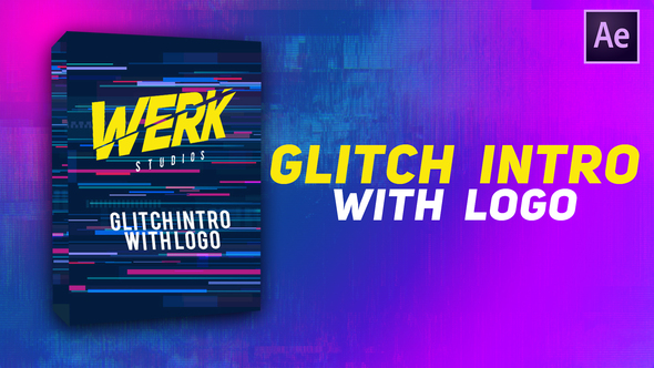 Glitch Logo Opener Download
