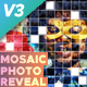 Mosaic Photo Reveal