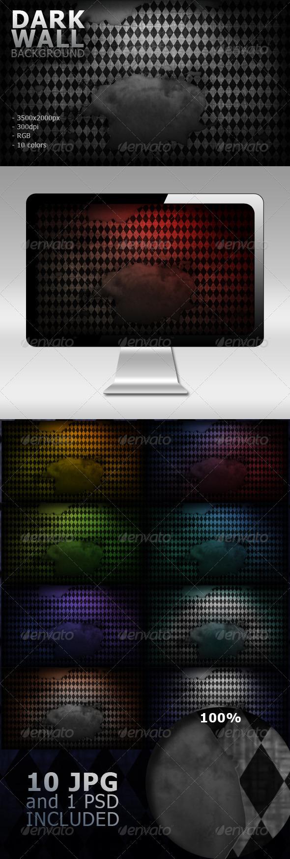 Dark Wall Background - Tech / Futuristic Backgrounds