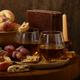 Dessert White Wine and Biscotti - PhotoDune Item for Sale