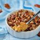 Sweet potato banana baked oatmeal with pecan crumb crust - PhotoDune Item for Sale