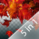 5 Maple Leaf Transition Pack - VideoHive Item for Sale