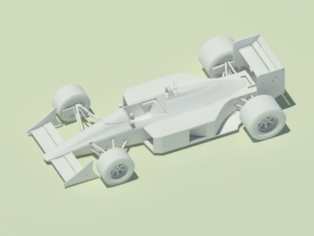 McLaren MP4-4 (no cooling scoops) - 3DOcean Item for Sale