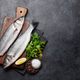 Fresh seafood. Trout fish - PhotoDune Item for Sale
