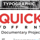 Typographic Documentary Promo - VideoHive Item for Sale