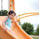 Active little toddler girl on the playground - PhotoDune Item for Sale