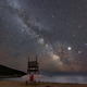 Milky Way over the Beach - PhotoDune Item for Sale