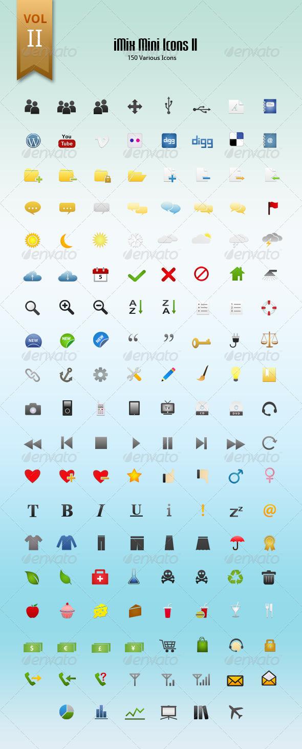 iMix Mini Icons Set II