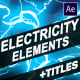 Cartoon Electricity And Titles | After Effects - VideoHive Item for Sale
