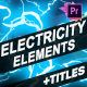 Cartoon Electricity And Titles | Premiere Pro MOGRT - VideoHive Item for Sale
