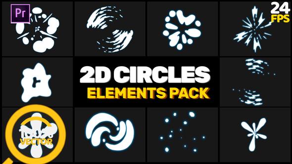 2D Circles Elements // MOGRT