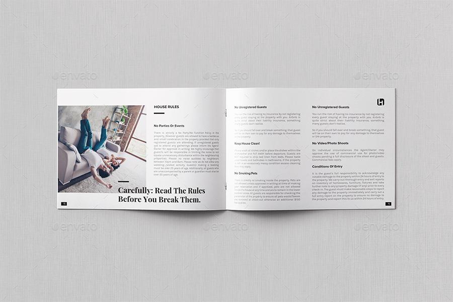 Airbnb House Manual/Guidebook Template
