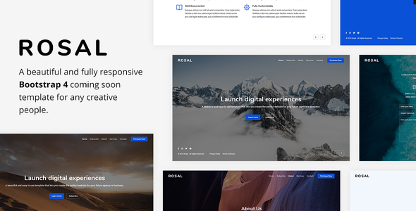Under Construction Bootstrap 4 Templates | Bootstrap4
