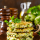 Vegetable fritters with zucchini and greens - PhotoDune Item for Sale