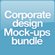 Corporate Design Mock-ups Bundle v1 - GraphicRiver Item for Sale