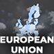 Map of European Union with Member States - European Union EU Map Kit - VideoHive Item for Sale