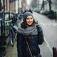 female tourist walking around and exploring Amsterdam - PhotoDune Item for Sale