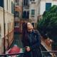 female tourist walking around and exploring venice - PhotoDune Item for Sale