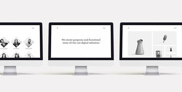 Nice Vava – Minimalistic Multipurpose Portfolio Template