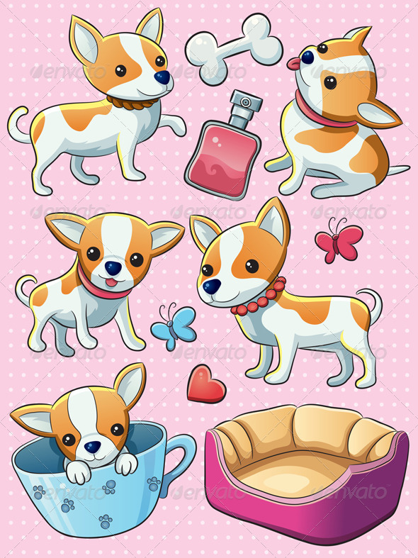 Download Chihuahua Puppy AI EPS Vector