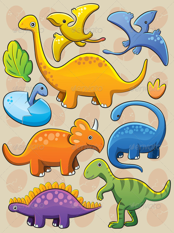 Dinosaurs Collection - Animals Characters