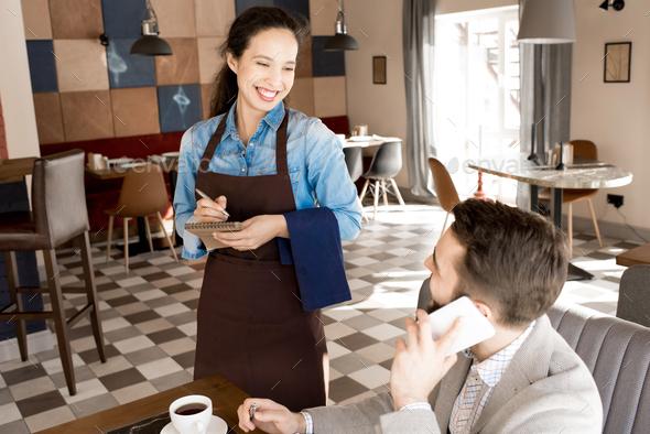Best quality service in modern restaurant