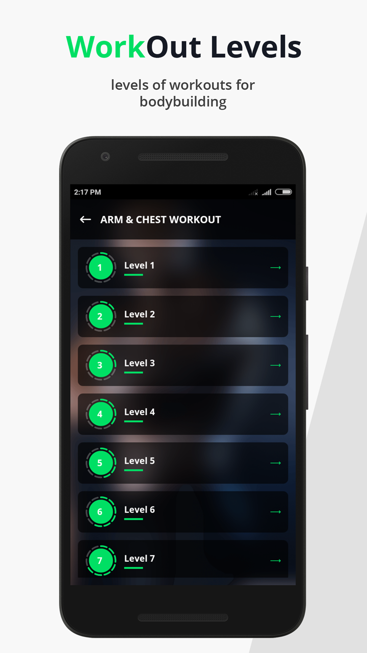 Body Fitness Workout Training: Gym at Home - Native Android mobile app