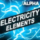 Cartoon Electricity | Motion Graphics Pack - VideoHive Item for Sale