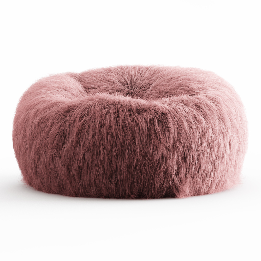 Swell Himalayan Faux Fur Beanbag Machost Co Dining Chair Design Ideas Machostcouk