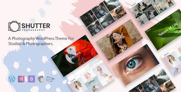 Shutter - Photography WordPress Theme