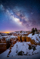 Milky Way over Bryce Canyon National Park, Utah, USA - PhotoDune Item for Sale