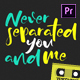 Lyric Video Template 2 - Premiere Pro - VideoHive Item for Sale