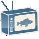 Fishing TV Logo - VideoHive Item for Sale