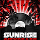 Vinyl Sunrise Flyer // 5 color versions in 2 sizes - GraphicRiver Item for Sale