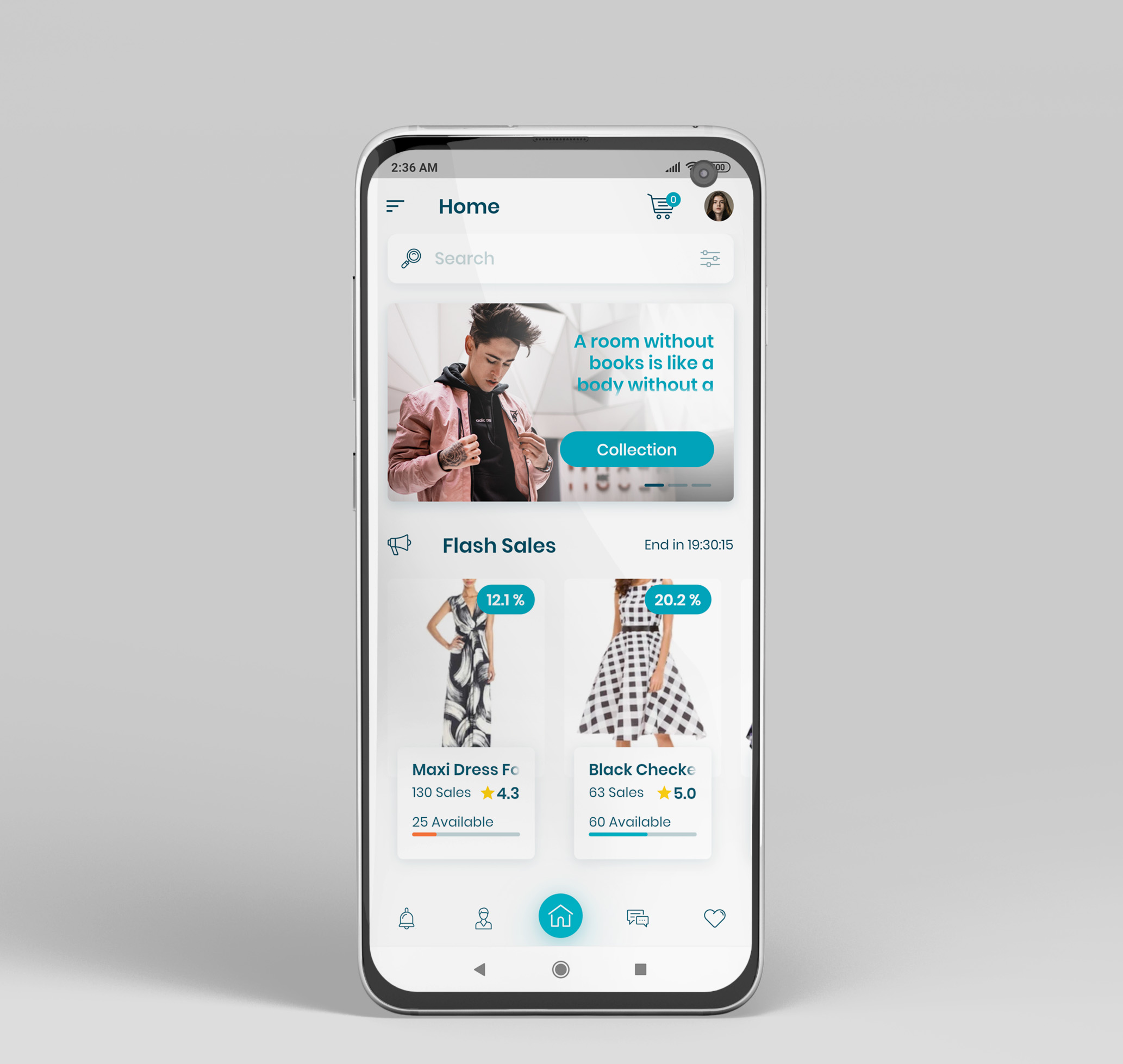 E-Commerce Flutter App UI Kit