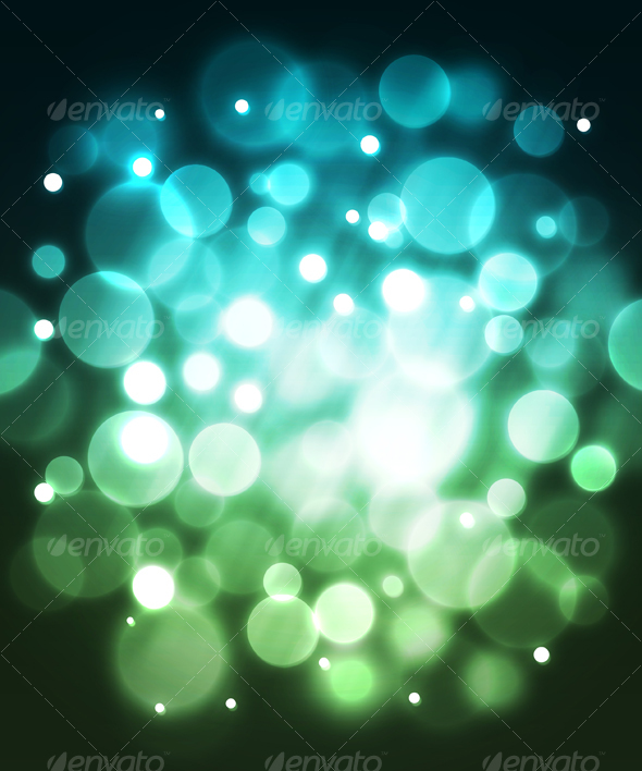 Blue fiber optic abstract background. - Abstract Backgrounds