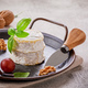 Brie cheese on metal tray - PhotoDune Item for Sale