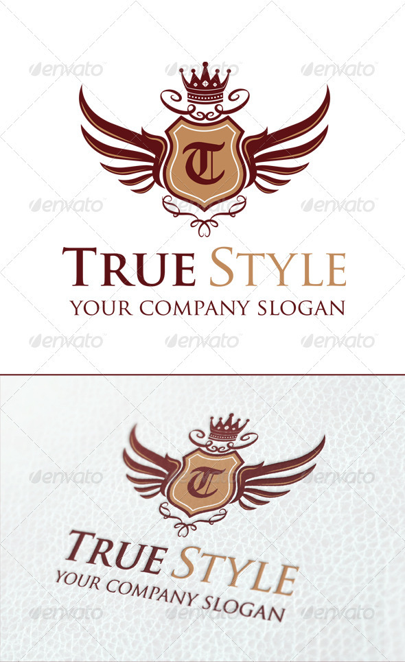 True Style Logo Template - Crests Logo Templates