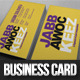 Jabbawockeez Business Card - GraphicRiver Item for Sale