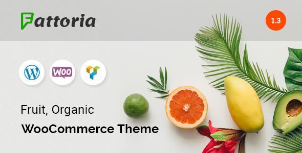 Fattoria - Organic Farm Natural Store WooCommerce Theme