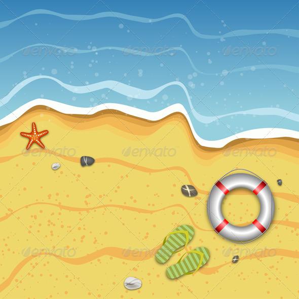 Tropical Summer Beach - Travel Conceptual