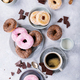 Sweet donuts with coffee - PhotoDune Item for Sale