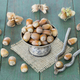 Hazelnuts on a wooden table - PhotoDune Item for Sale