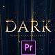 Dark Premium Titles - VideoHive Item for Sale