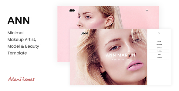 Wondrous ANN — Minimal Makeup Artist, Model & Beauty Template