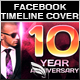 Anniversary Facebook Timeline Cover - GraphicRiver Item for Sale