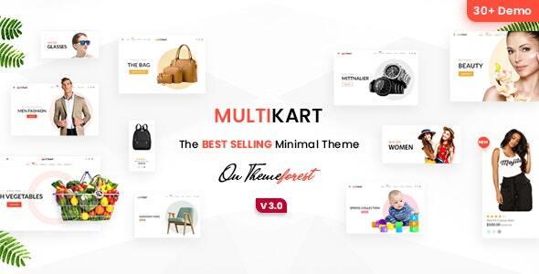 Multikart - Multipurpose Shopify Theme
