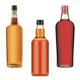 bottles of whisky, cognac and wine - PhotoDune Item for Sale