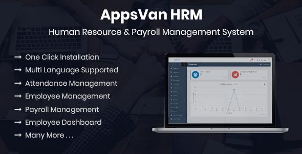 AppsVan HRM - Human Resource & Payroll Management System