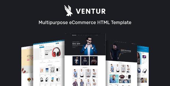 Ventur – Multipurpose eCommerce HTML Template